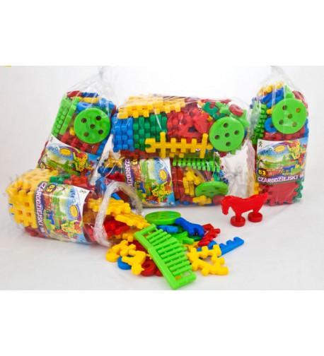 Dětská plastová stavebnice - mlýn