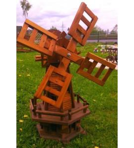 Dřevěný mlýn