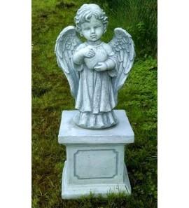 Andělíček na podstavci